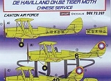 KORA 1/72 De havilland DH82 Chine