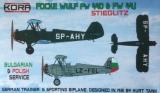 KORA 1/72 Focke-Wulf Fw44D/J export