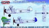 KORA 1/72 Focke-Wulf Fw44 Chili Argentine