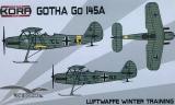KORA 1/72 Gotha Go145A sur skis