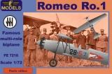 LF MODELS 1/72 Romeo Ro-1