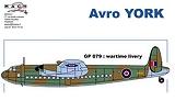 MACH 2 1/72 Avro York