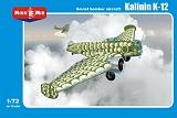 MIKRO MIR 1/72 Kalinin K12