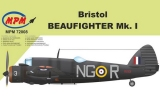 MPM 1/72 Bristol Beaufighter NF MkI