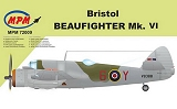 MPM 1/72 Bristol Beaufighter MkVI