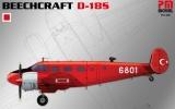 PM MODEL 1/72 Beechcraft D18S Turquie