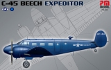 PM MODEL 1/72 Beech C45 Expeditor