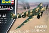 REVELL 1/48 Junkers Ju52/3mg4e