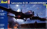 REVELL 1/72 Avro Lancaster MkIII Dambuster