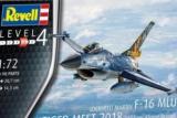 REVELL 1/72 Lockheed-Martin F16MLU Tiger Meet