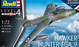 REVELL 1/72 Hawker Hunter FGA9