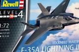 REVELL 1/72 Lockheed-Martin F35A Lightning II