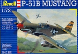 REVELL 1/72 North-American P51B Mustang