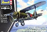 REVELL 1/72 Polikarpov I-153
