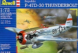 REVELL 1/72 Republic P47D-30