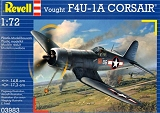 REVELL 1/72 Vought F4U1A Corsair