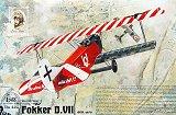 RODEN 1/48 Fokker D-VII OAW début de série