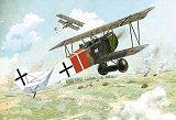 RODEN 1/48 Fokker D-VII Alb. fin de série