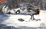 RODEN 1/48 Gloster Gladiator MkII / J8