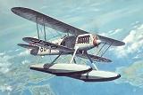 RODEN 1/48 Heinkel He51B hydravion