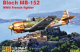 "RS MODELS 1/72 Bloch MB152 ""Vichy"""