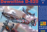"RS MODELS 1/72 Dewoitine D520 ""Armée de l'Air"""