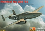 RS MODELS 1/72 Heinkel He280 V3