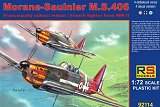 RS MODELS 1/72 Morane-Saulnier MS406