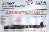 SANGER 1/48 Armstrong-Whitworth Whitley MkV