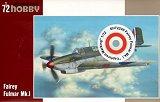 SPECIAL HOBBY 1/72 Fairey Fulmar MkI capturé