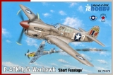"SPECIAL HOBBY 1/72 Curtiss P40K1-5 ""short tail"""