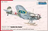SPECIAL HOBBY 1/72 Curtiss Hawk III Siam, Argentine