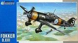 SPECIAL HOBBY 1/48 Fokker DXXI Sarja 3