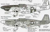 SUPERSCALE 1/48 North-American P51B