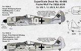 SUPERSCALE 1/48 Focke-Wulf Fw190A4/A5/A8