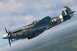 """SWORD 1/72 Supermarine Spitfire MkXIV """"bubble"""""""