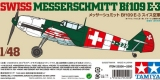 TAMIYA 1/48 Messerschmitt Bf109E3 Suisse