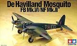 TAMIYA 1/72 De Havilland Mosquito FB MkVI / NF MkII