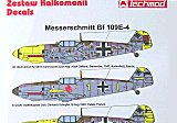 TECHMOD 1/48 Messerschmitt Bf109E4