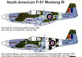 TECHMOD 1/48 North-American P51B Mustang III
