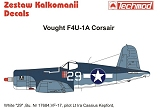 TECHMOD 1/48 Vought F4U1A Corsair Kepford