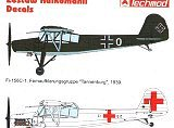 TECHMOD 1/72 Fieseler Fi156 Storch