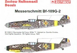 TECHMOD 1/72 Messerschmitt Bf109G2 roumains