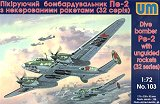UNIMODEL 1/72 Petlyakov Pe2 série 32 avec missiles