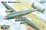 VALOM 1/72 De Havilland DH91 Albatross RAF