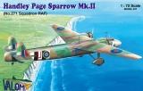 VALOM 1/72 Handley-Page Sparrow MkII