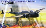 VALOM 1/72 Handley-Page Hampden B MkI