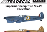 XTRADECAL 1/72 Supermarine Spitfire MkVc