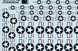 XTRADECAL 1/72 USAAF étoiles (petites)