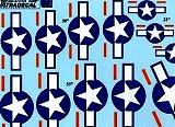 XTRADECAL 1/72 USAAF étoiles (grandes)